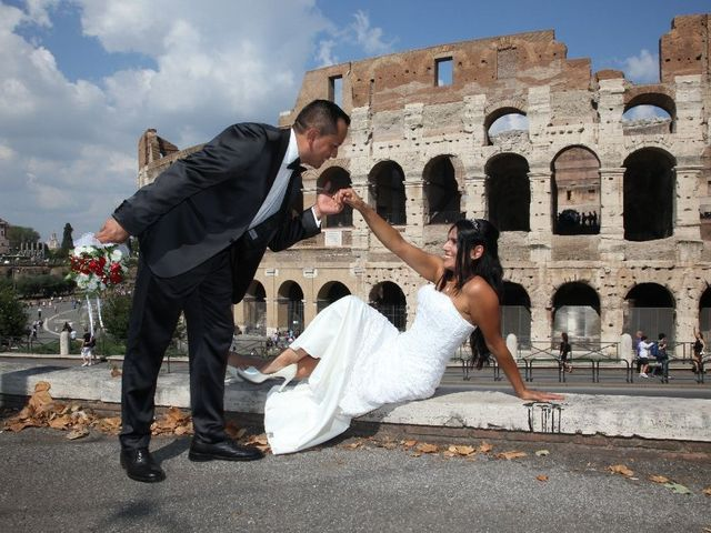 Il matrimonio di Wimper e Monica a Roma, Roma 24