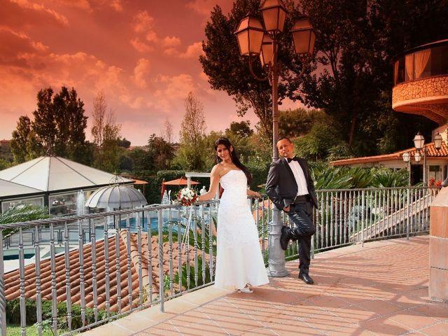 Il matrimonio di Wimper e Monica a Roma, Roma 28