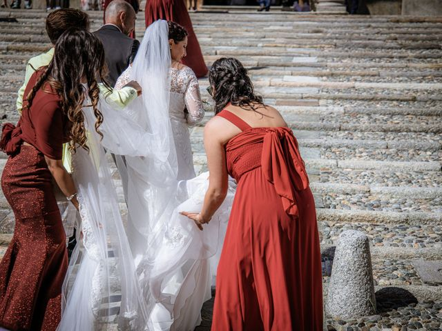 Il matrimonio di Danjg e Nicole a Verbania, Verbania 14