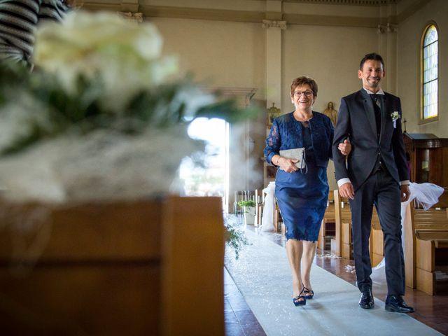 Il matrimonio di Cristina e Davide a Santa Giustina in Colle, Padova 11