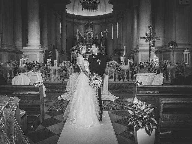 Il matrimonio di Cristina e Davide a Santa Giustina in Colle, Padova 15