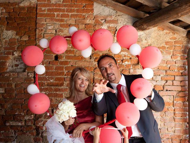 Il matrimonio di Davide e Viola a Giussago, Pavia 1