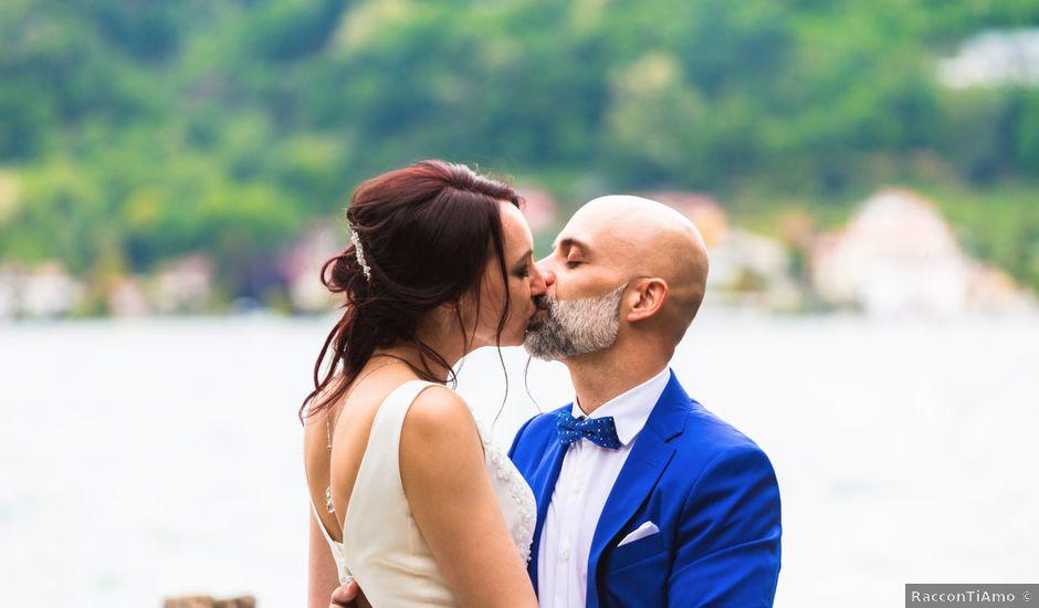 Il matrimonio di Marcello e Aksana a Orta San Giulio, Novara