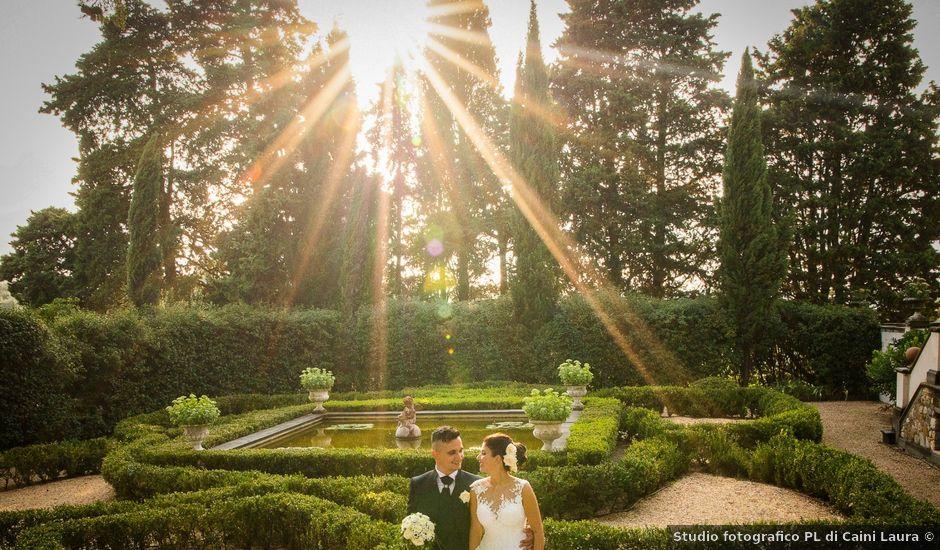 Il matrimonio di Andrea e Sara a Colle di Val d'Elsa, Siena