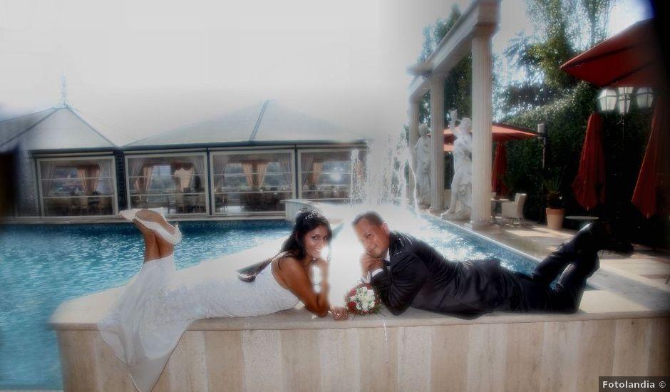 Il matrimonio di Wimper e Monica a Roma, Roma