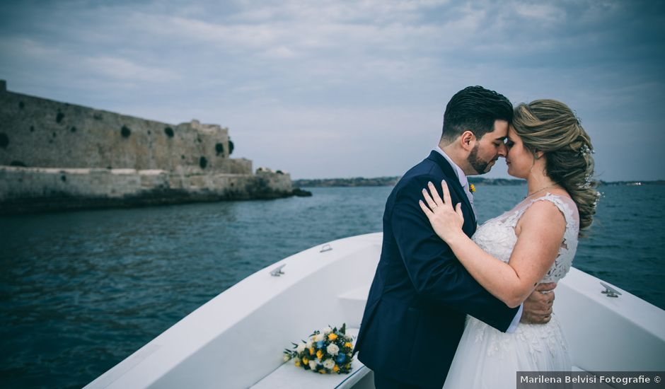 Il matrimonio di Stelvio e Giulia a Siracusa, Siracusa