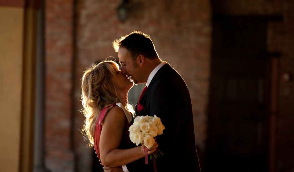 Il matrimonio di Davide e Viola a Giussago, Pavia