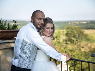 Le nozze di Stephanie e Matteo