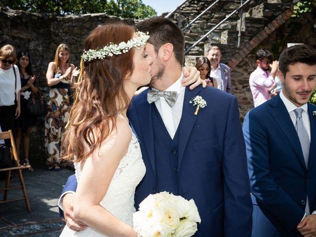 Il matrimonio di Fabio e Simona a Zoagli, Genova 56