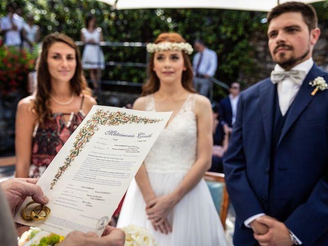 Il matrimonio di Fabio e Simona a Zoagli, Genova 59