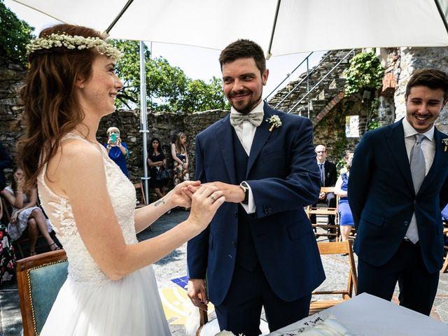Il matrimonio di Fabio e Simona a Zoagli, Genova 67