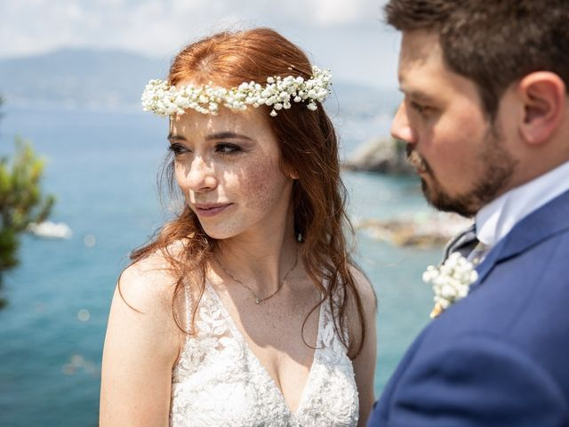 Il matrimonio di Fabio e Simona a Zoagli, Genova 81