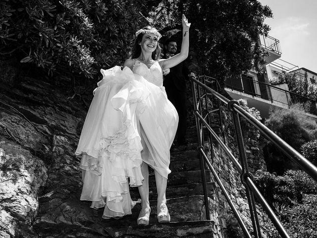 Il matrimonio di Fabio e Simona a Zoagli, Genova 84