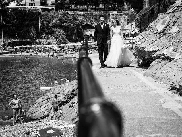 Il matrimonio di Fabio e Simona a Zoagli, Genova 85