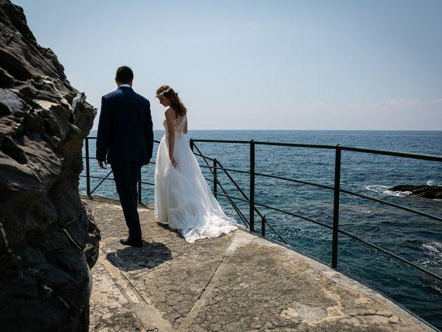 Il matrimonio di Fabio e Simona a Zoagli, Genova 86
