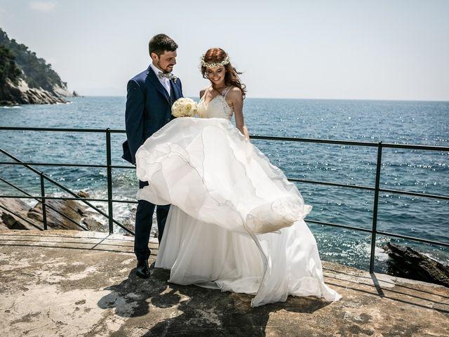 Il matrimonio di Fabio e Simona a Zoagli, Genova 90