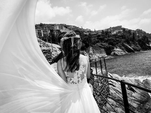 Il matrimonio di Fabio e Simona a Zoagli, Genova 91