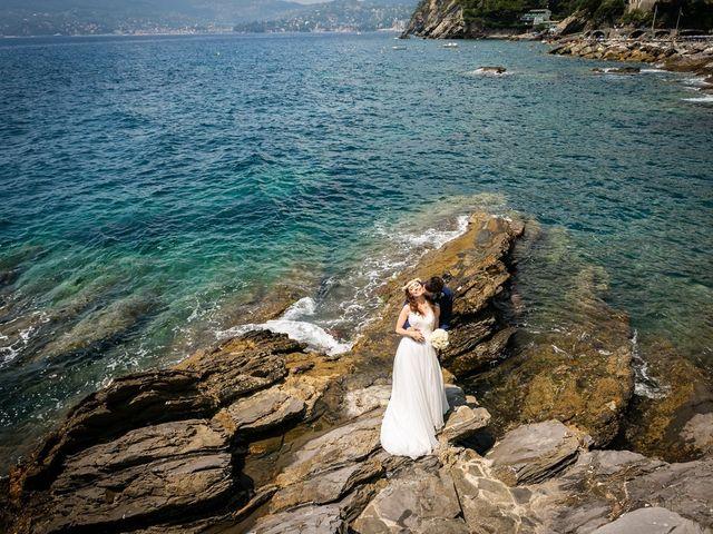 Il matrimonio di Fabio e Simona a Zoagli, Genova 92