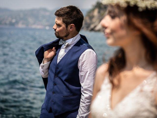 Il matrimonio di Fabio e Simona a Zoagli, Genova 94