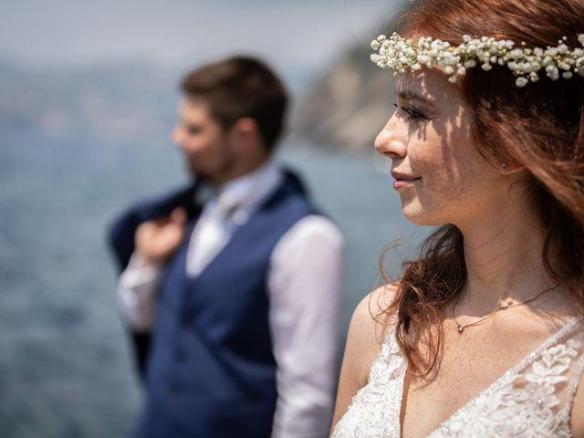 Il matrimonio di Fabio e Simona a Zoagli, Genova 95