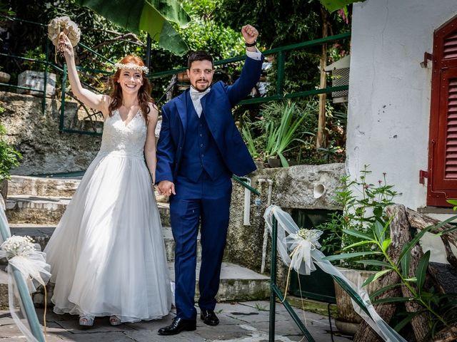 Il matrimonio di Fabio e Simona a Zoagli, Genova 99