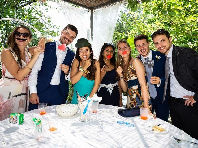 Il matrimonio di Fabio e Simona a Zoagli, Genova 103