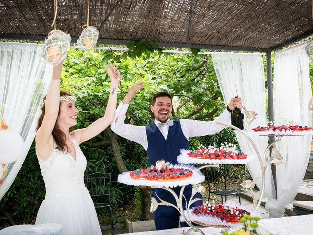 Il matrimonio di Fabio e Simona a Zoagli, Genova 113