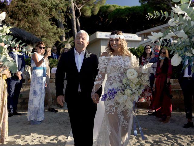 Il matrimonio di Diego e Federica a Castiglione della Pescaia, Grosseto 14