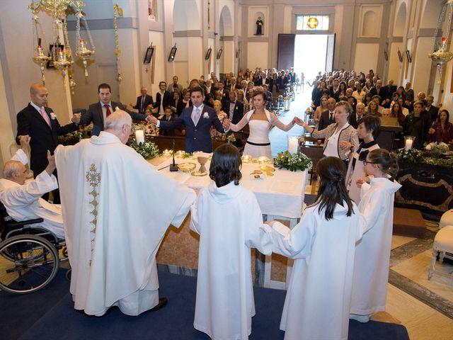 Il matrimonio di Mattia e Michela a Garbagnate Monastero, Lecco 16