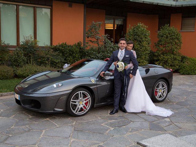 Il matrimonio di Mattia e Michela a Garbagnate Monastero, Lecco 32