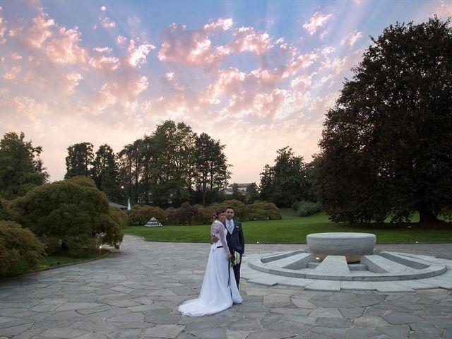 Il matrimonio di Mattia e Michela a Garbagnate Monastero, Lecco 34