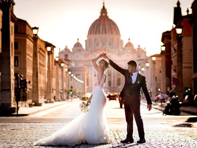 Il matrimonio di Valerio e Martina a Roma, Roma 4