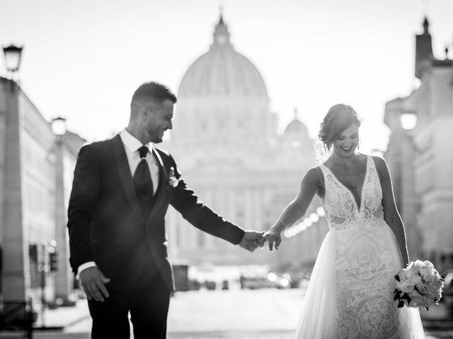 Il matrimonio di Valerio e Martina a Roma, Roma 7