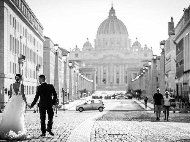 Il matrimonio di Valerio e Martina a Roma, Roma 10
