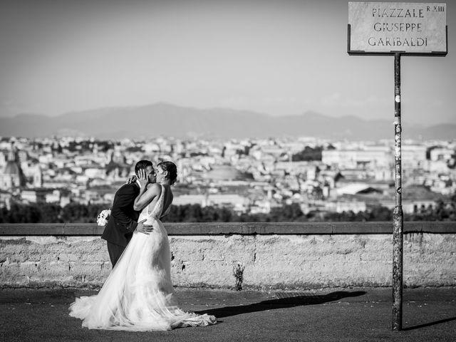 Il matrimonio di Valerio e Martina a Roma, Roma 12