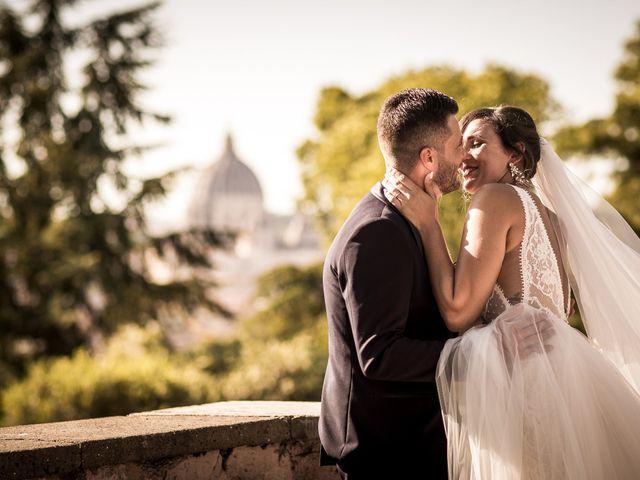 Il matrimonio di Valerio e Martina a Roma, Roma 16