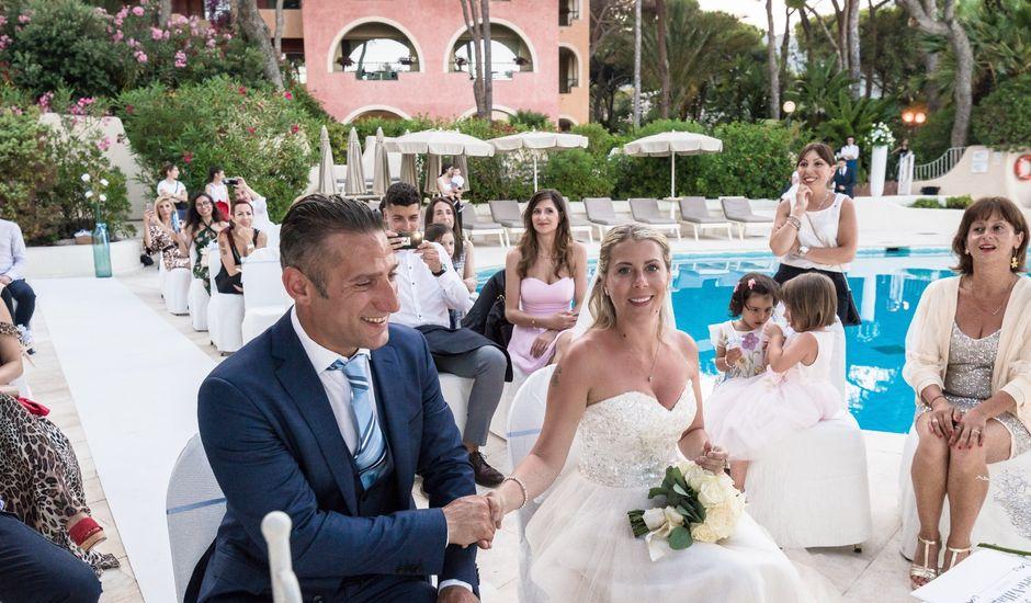 Il matrimonio di Luca e Carola a Pula, Cagliari