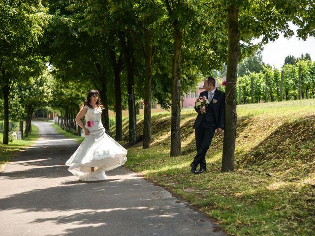 Il matrimonio di Stefano e Fabiana a Pozzolengo, Brescia 20