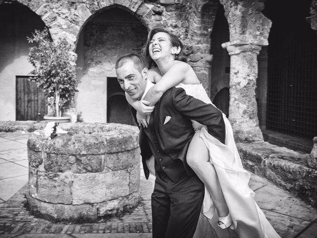 le nozze di Romina e Angelo