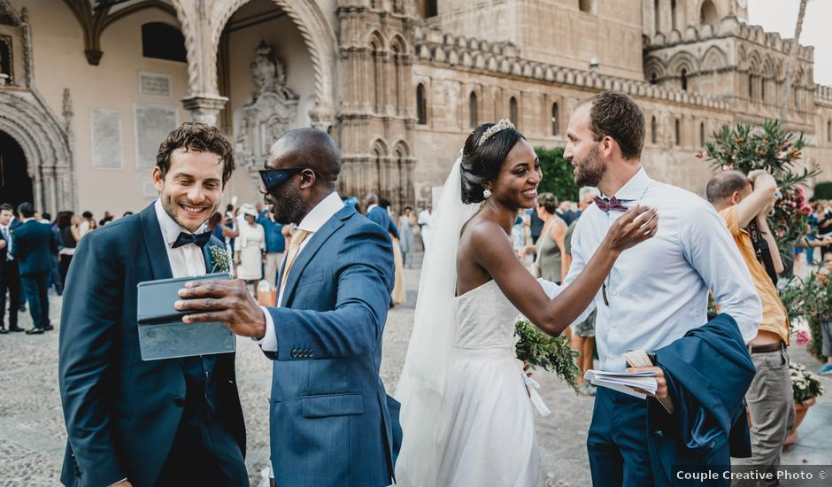 Il matrimonio di Marie e Giulio a Palermo, Palermo