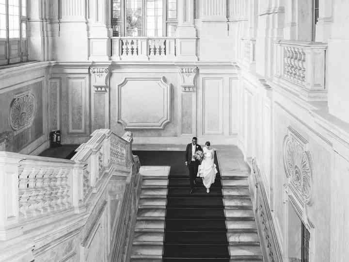 le nozze di Arianna e Chidi