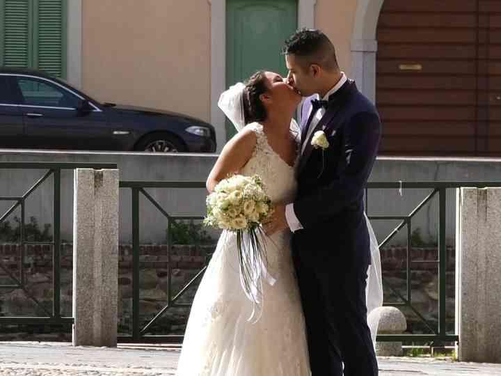 Le nozze di Cristina e Vittorio