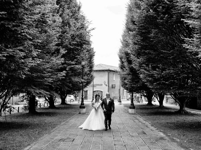 Il matrimonio di Simone e Romina a Mirano, Venezia 16