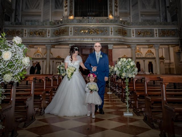 Il matrimonio di Simone e Romina a Mirano, Venezia 19