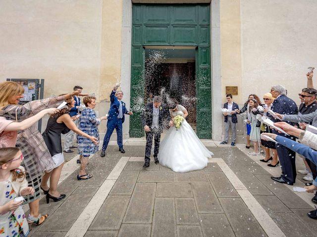 Il matrimonio di Simone e Romina a Mirano, Venezia 21