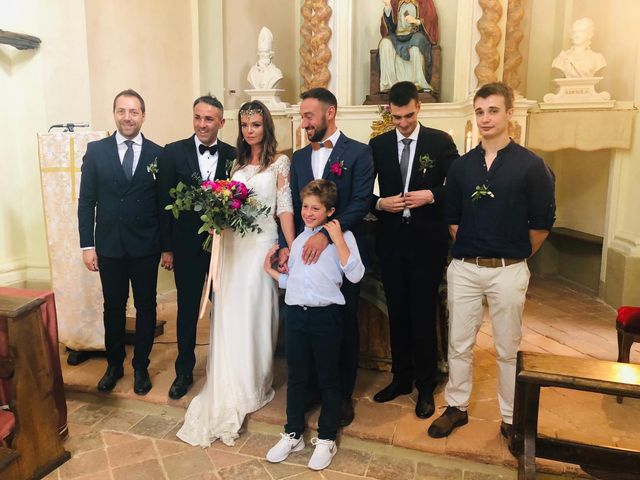 Il matrimonio di Francesco  e Cristina  a Soglio, Asti 10