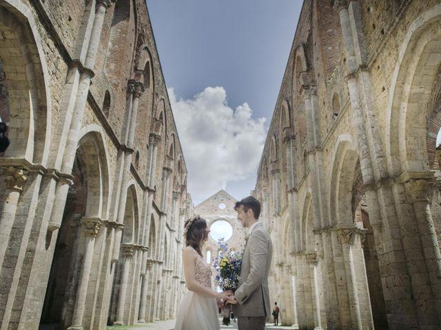 Le nozze di Martina e Gareth