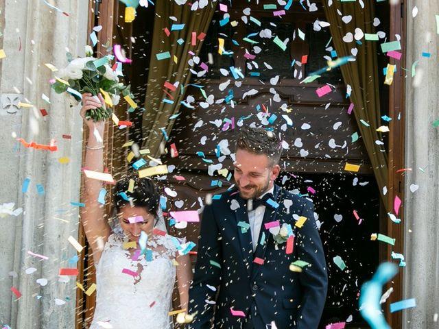 Il matrimonio di Yuri e Laura a Bereguardo, Pavia 19