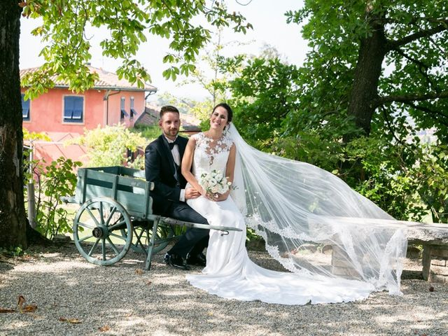 Il matrimonio di Yuri e Laura a Bereguardo, Pavia 38