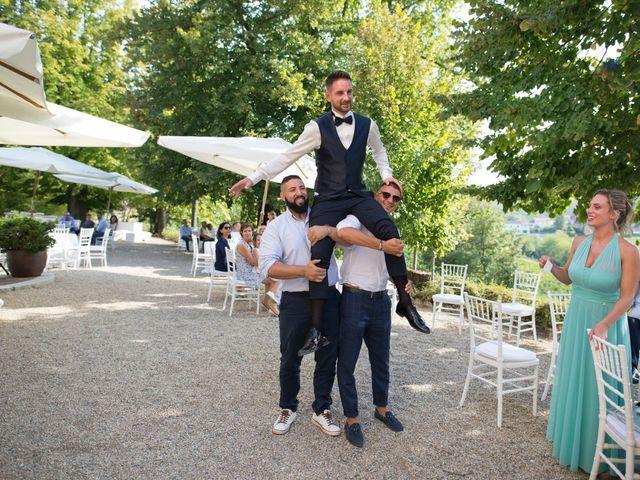 Il matrimonio di Yuri e Laura a Bereguardo, Pavia 52